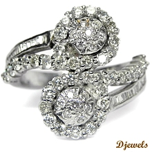Diamond Ring For Ladies in India at Delhi By Djewels.org