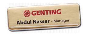 Design Name Badges Online