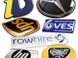 Domed Stickers, Vinyl Labels and Badges at Domed Stickers International