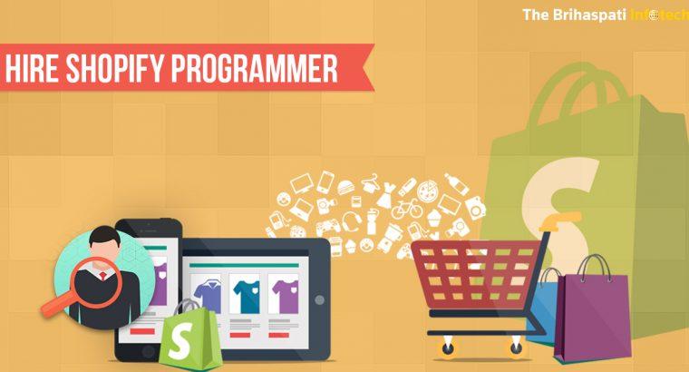 Hire Shopify Expert Programmer