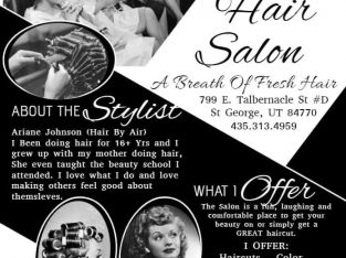 Hair dressing 15% Discount on First visit
