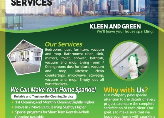 JC/Bayonne House Cleaning Prices as low as $75