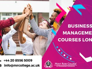 Business Management Courses London
