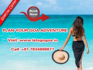 Book Goa Adventure Holidays at letsgogoa.in