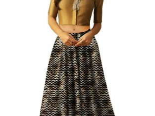 Grab up to 10% Off on crop top lehengas Visit Mirraw