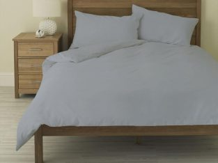 Light Grey Duvet Cover – AanyaLinen