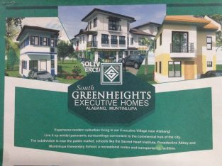 South Greenheights Village Muntinlupa House and Lot