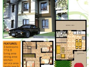 Muntinlupa House and Lot in South Greenheights Village
