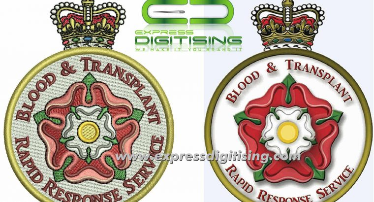 Professional Digitizing | for Embroidery – Free Quote | Expressdigitising.com
