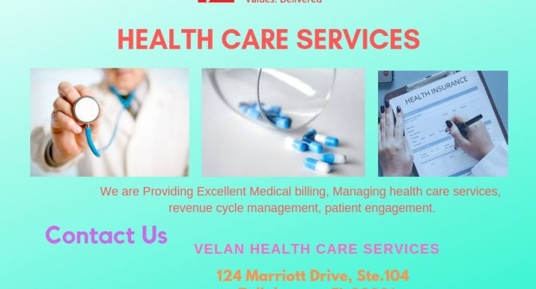 Health care Services | Medical Billing Services | Healthcare Management Companies – Velan Health Care Services