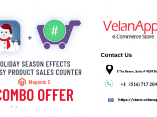 Christmas Offer | Special Combo Offer | Megento 2 Holiday Seasonal Effects – Velan Apps