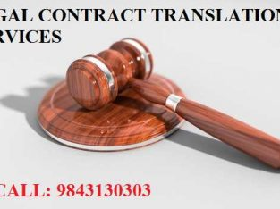 Legal Contract Translation Services in India