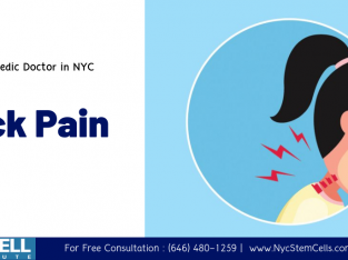 Best Orthopedic Doctor in New York Offering the best treatments for Neck Pain