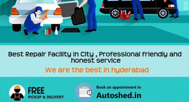Car and Bike Repair Service Centers in Madhapur, Hyderabad – Autoshed