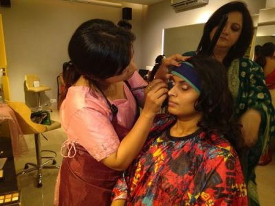 Best Makeup and Hair Styling Courses Academy in Banjara Hills, Hyderabad – First Foundation Pro