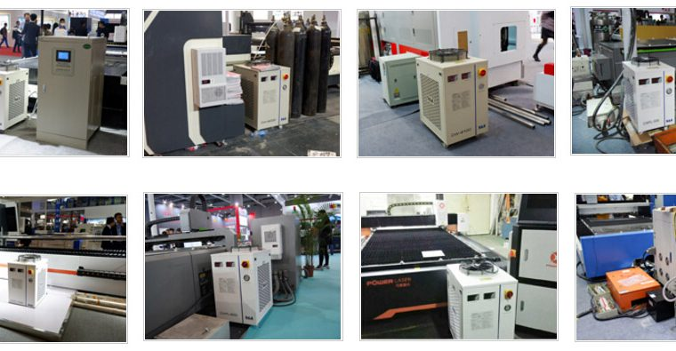 Laser water cooled system for 1500W Fiber Laser Machine