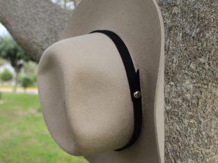 Western cowboy hat handmade by Peruvian artisans
