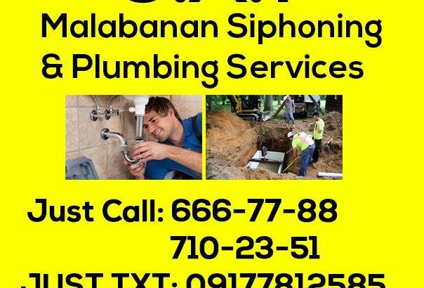 Malabanan Plumbing & Declogging Services 09497061033