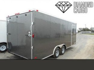 5×8 Enclosed Trailer