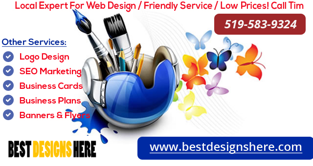 Local Expert For Web Design / Friendly Service / Low Prices! Call Tim