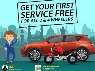 Car and Bike Repair Service Center in Kondapur