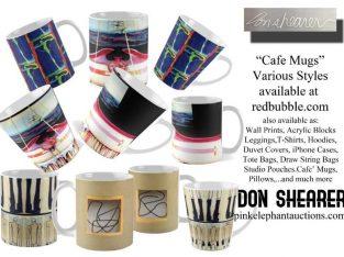 Café Mugs Various Styles Available