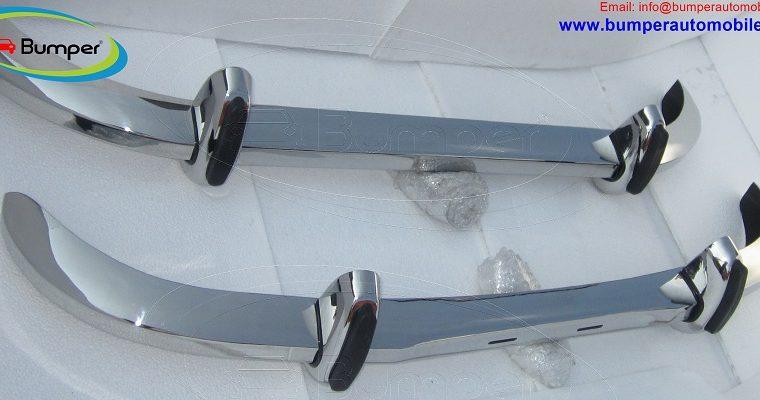 Saab 96 Longnose bumper in stainless steel