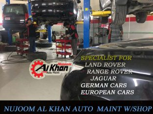 Nujoom alkhan land rover auto repair service