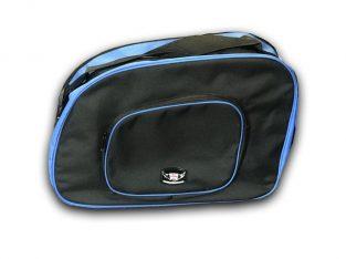 Great Bikers Gear Bmw R100R Side Pannier Bags Black, Blue