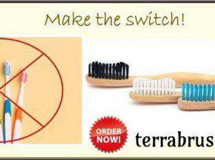 Buy Bamboo Toothbrush Pack of 4 Online – Terrabrush.in