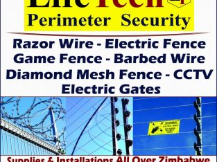 Razor Wire Supply and Installation