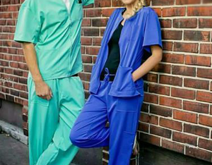 Buy Mens Scrub Tops Online | Medical Scrub Jackets For Men | AM:PM