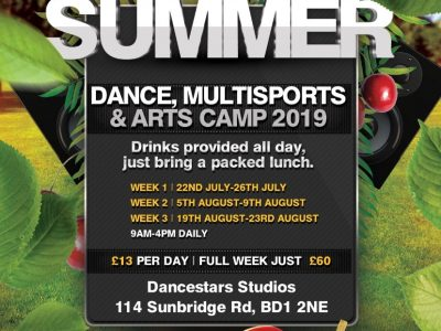 Dance, Multisports and Arts Camp!