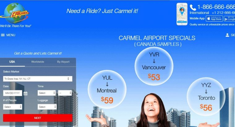 Limo Service In NYC | NYC Limousine – Carmellimo.com