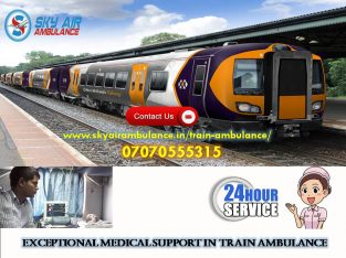 Take Matchless Medical Support in Bangalore by Sky Train Ambulance