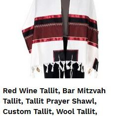 Finding Bar Mitzvah Tallit has never been this easy