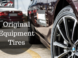 Get Original Equipment Tires through Blitzify app