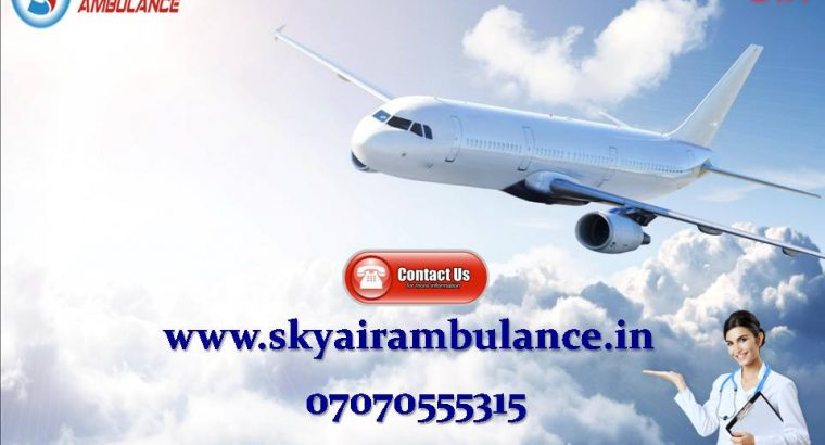 Get India's Best ICU Air Ambulance Service in Ranchi