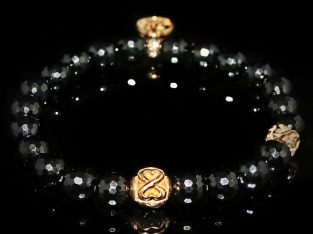 Black Onyx Bracelet / Objectiveness – Spirituality – Meditation