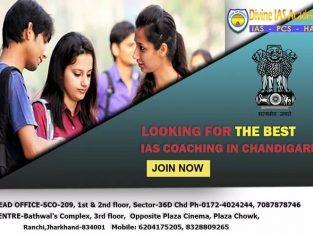 Best IAS Coaching in Chandigarh – Divine IAS Academy