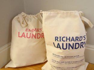 Laundry Bag, Hotel Laundry Bag, Cotton Promotional Laundry Bags