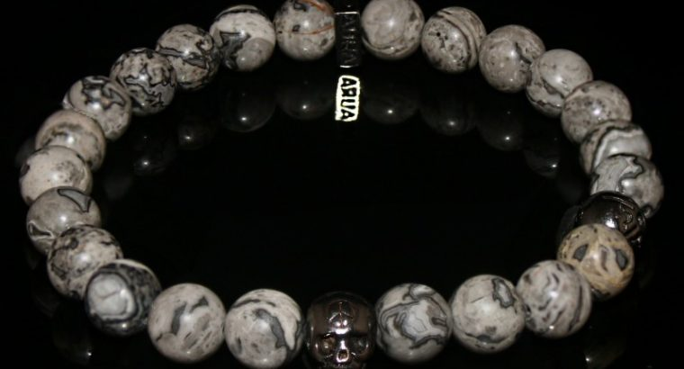 Jasper – Picasso Bracelet- For Creativity, Ambition, Strength