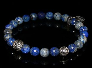 Blue Lapis Lazuli Bracelet Intuition – Self-esteem