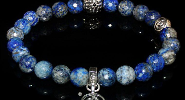 Blue Lapis Lazuli Bracelet Intuition – Self-esteem