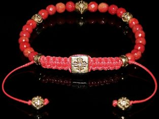 Red Coral Bracelet For Metabolism Balance And Harmony