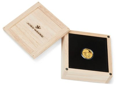 2020 Tuvalu John Wayne 1/4 oz Gold Proof Coin