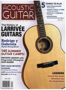 Acoustic Guitar Magazine Best price subscription