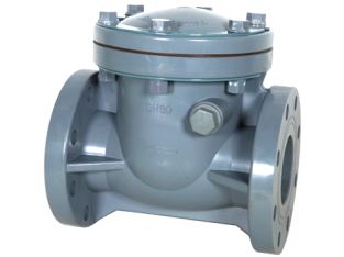 CPVC SWING TYPE CHECK VALVE