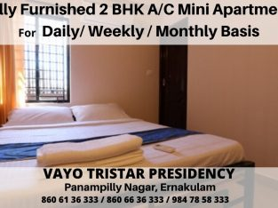 Fully Furnished AC Mini Apartments Available for Monthly / Weekly / Daily Basis