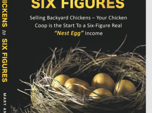 Your Chickens Are Your Path To A Six Figure Income!
